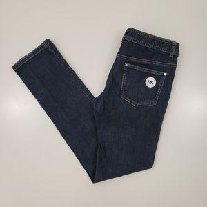 Michael Kors Dark Wash Skinny Jeans Womens 4